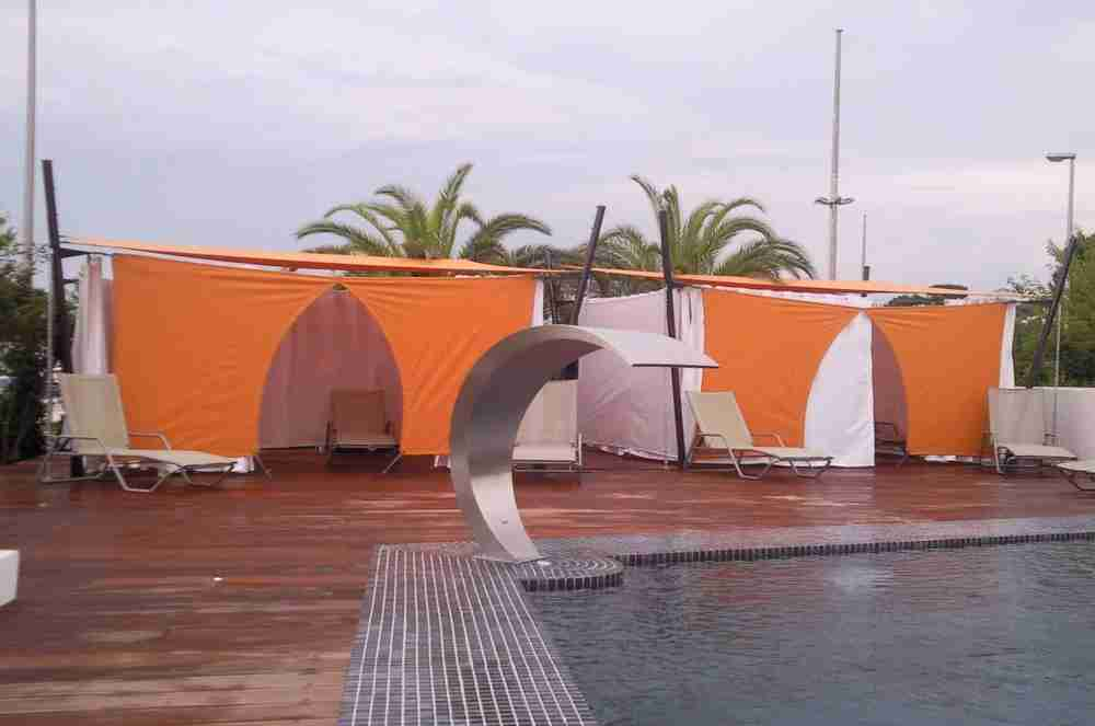 beach hotel -les pecheurs- juan les pins antibes-cabine de massage 12
