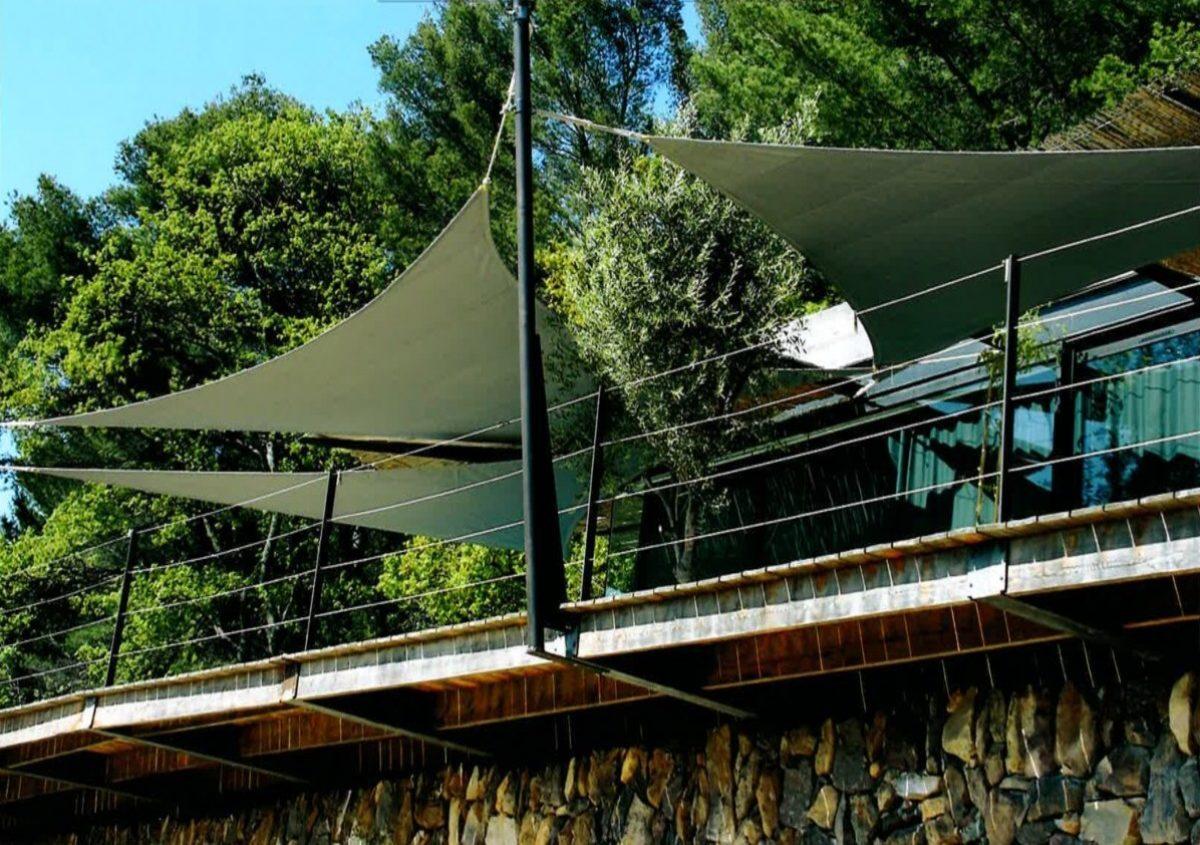 le projet et la réalisation d'une maison réalisée par L'architecte RUDDI RICCIOTTI (2)